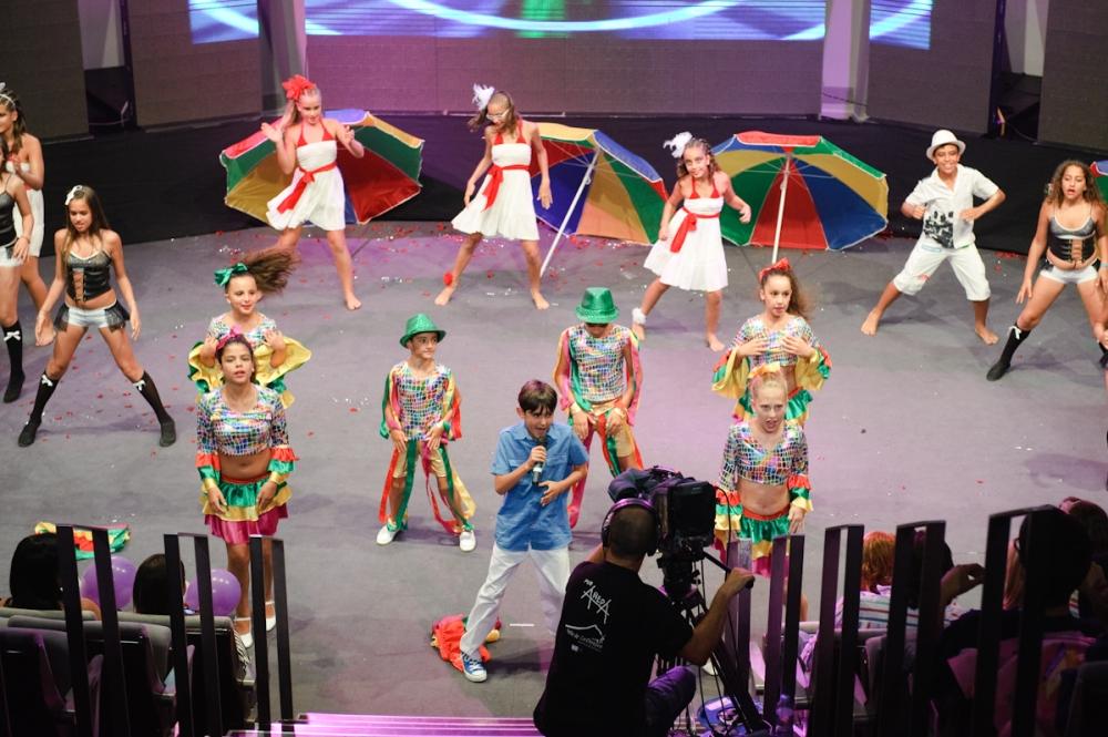 momento de una actuación en la final de 2012