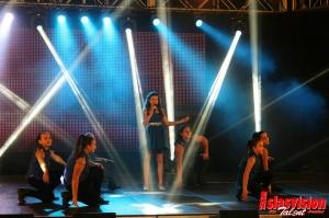 Momento de la gala Esmeralda Brito.
