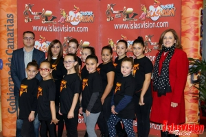 Momento photocall Lil Dance