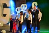 Juan Jesús inauguró la gala, con una espectacular puesta en escena